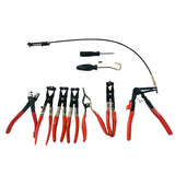 9Pc Hose Clamp Removal Pliers Kit Set | 09197901
