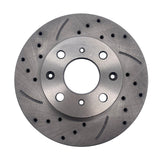 1 Set /2 BD125006 31029 Streaking Front Brake Disc Silver | 40259444