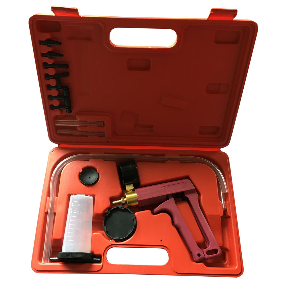 Vacuum Brake Bleeder Hand Held Pump Tester Kit | 22800996