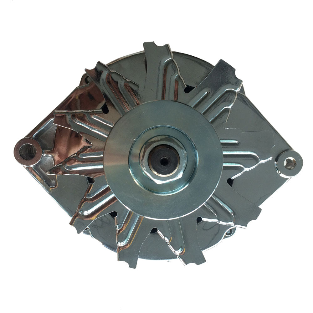Alternator Chrome Plated for Chevrolet 75-85 105AMP 1 Line | 80856558