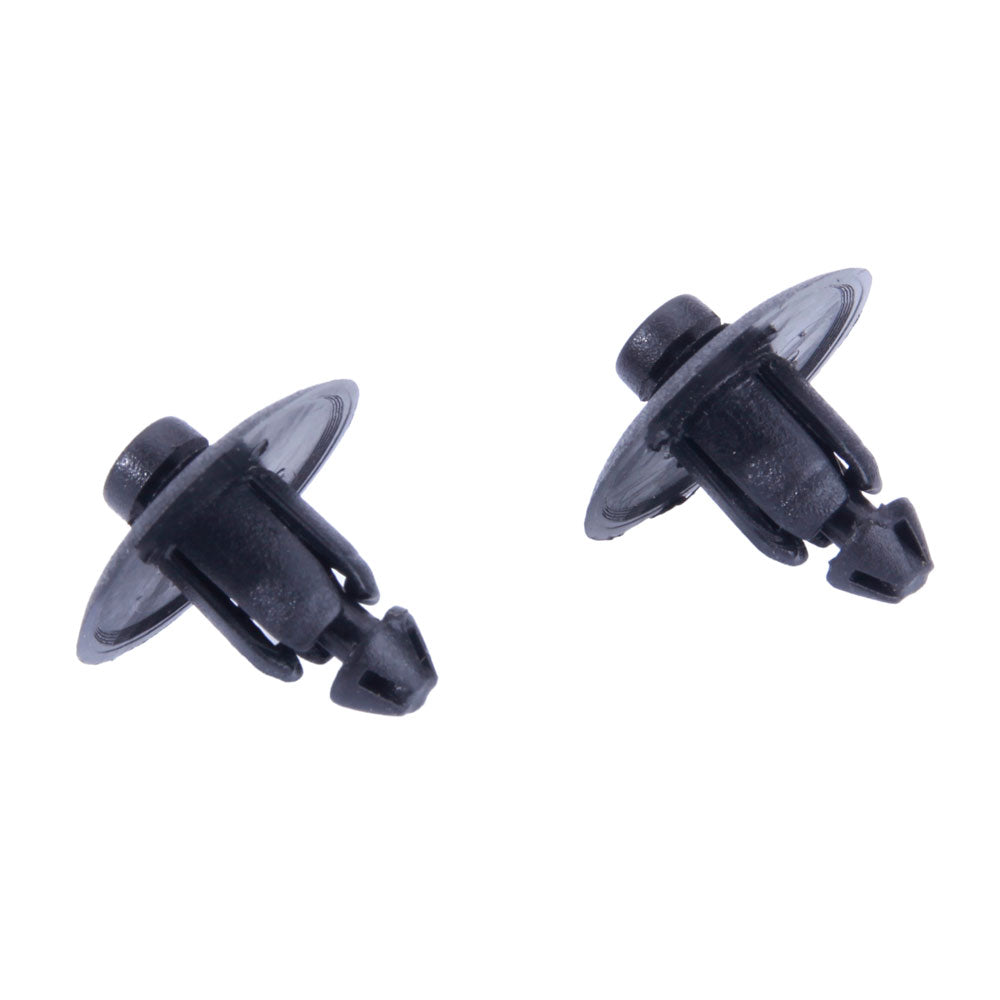 10pcs High Quality Plastic Clips Retainer OEM WX68DX9-AA Black | 60474573