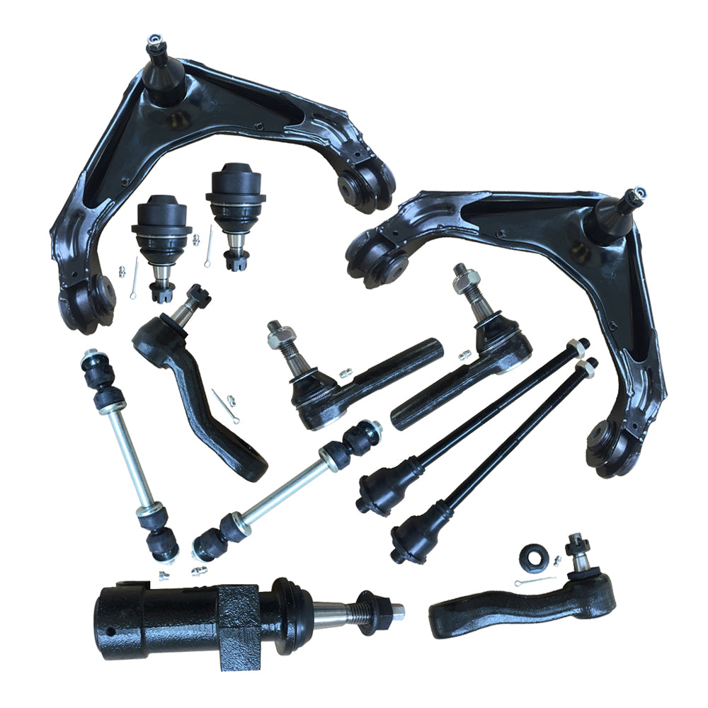 13pcs Complete Control Arm Front Suspension Kit for 00-12 CHEVROLET/GMC 03-09 HUMMER | 69144487