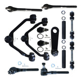 13pcs Complete Control Arm Front Suspension Kit for 97-03 FORD 98-02 LINCOLN | 39598778