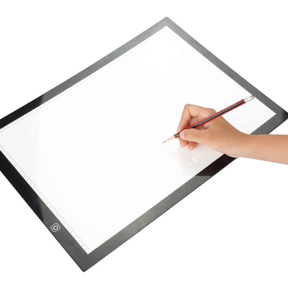 A3 LED Tracing Light Box Stencil Drawing Board Pattern Art Design Pad Supply US | 15095006