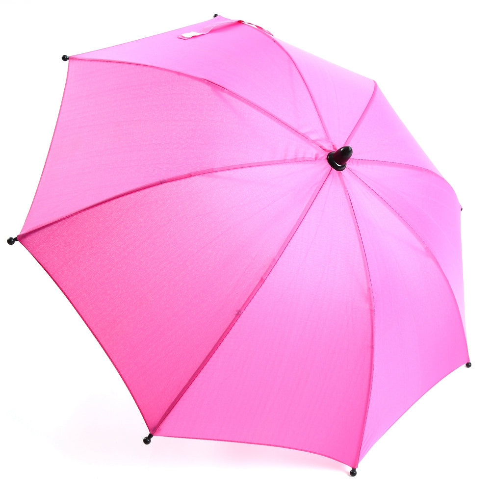 Baby Stroller Wheelchair Pushchair Pram UV Rays Sun Rain Parasol Umbrella + Clip | 43014233