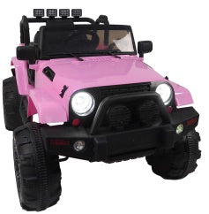 12V Kids Ride On Car SUV MP3 2.4GHZ Remote Control LED Lights Pink | 81612323