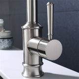 Single Handle Arc Pull-down Type Sprayer Kitchen Faucet Stainless Steel Kitchen Sink Water Tap Type 3 | 26444769