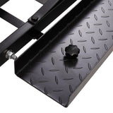 SH 1502 Hitch Mounted Steel Motorcycle Carrier Black | 68309052