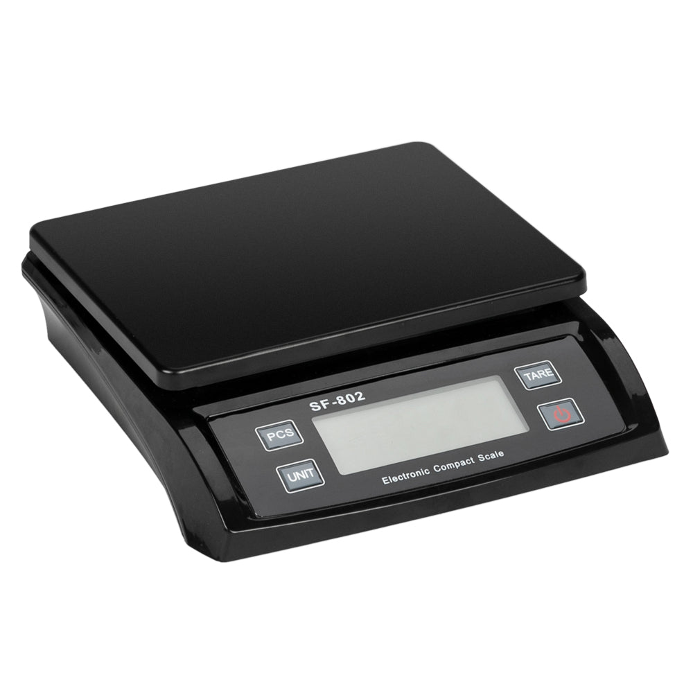 SF-802 30KG/1G High Precision LCD Digital Postal Shipping Scale Black with Adapter | 05418236