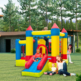 3.2*3*2.5m 420D Thick Oxford Cloth Inflatable Bounce House Castle Ball Pit Jumper Kids Play Castle Multicolor | 74461978
