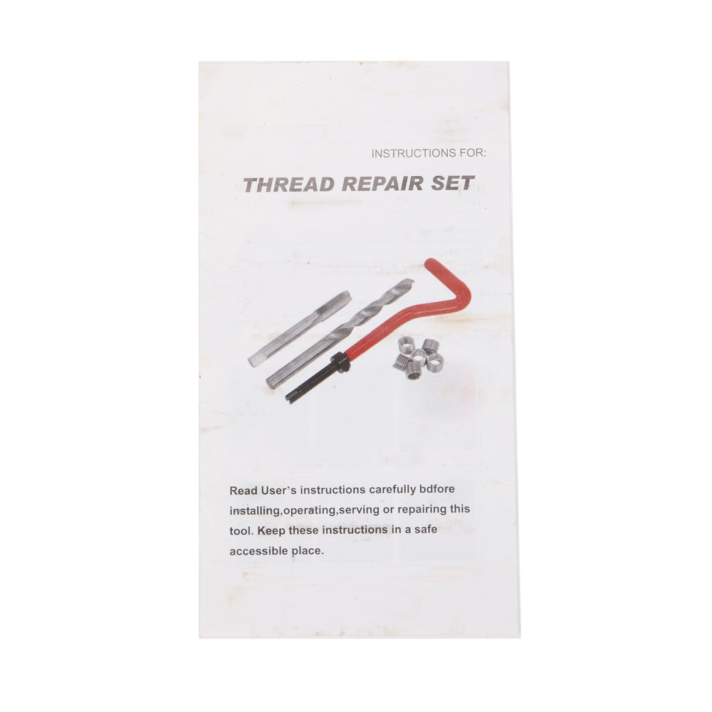 131pcs Thread Repair Set Red | 68883207