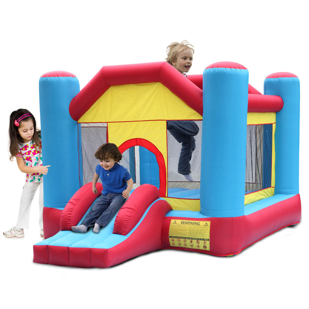 12ft x 9ft x 7ft Indoor Outdoor Inflatable Castle Bounce House For Kids | 04460362