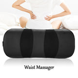 Air Pressure Waist Massage Pillow Cordless Magnetic Therapy Heating Pillow Waist Care US Plug | 17845461