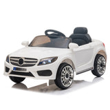 12V Kids Ride On Car 2.4GHZ Remote Control LED Lights White | 25345162