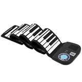 88 Keys Roll Up Piano Built-In Speaker With Bluetooth Built-In Rechargeable Battery For Beginners Gift | 01624485