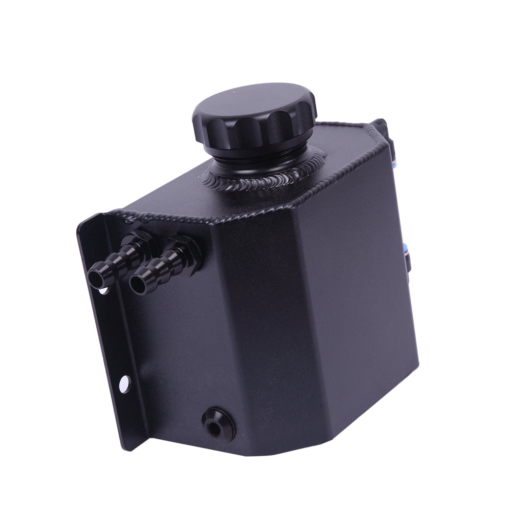 1L Cylinder Aluminum Square Engine Oil Catch Can Tank Black | 99963684