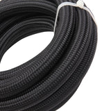 10AN 12-Foot Universal Black Fuel Hose 6 Black Connectors | 35883871