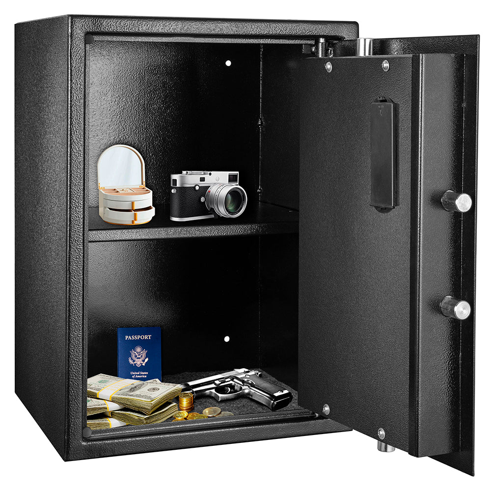 ZOKOP H500*W380*D330 mm Electronic Code Depository Security Safe Black | 20467503