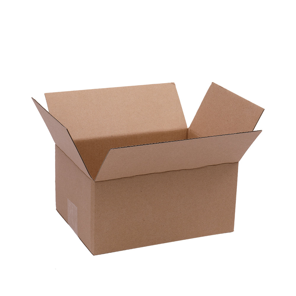 "100 Corrugated Paper Boxes 8x6x4""?20.3*15.2*10cm?Yellow 