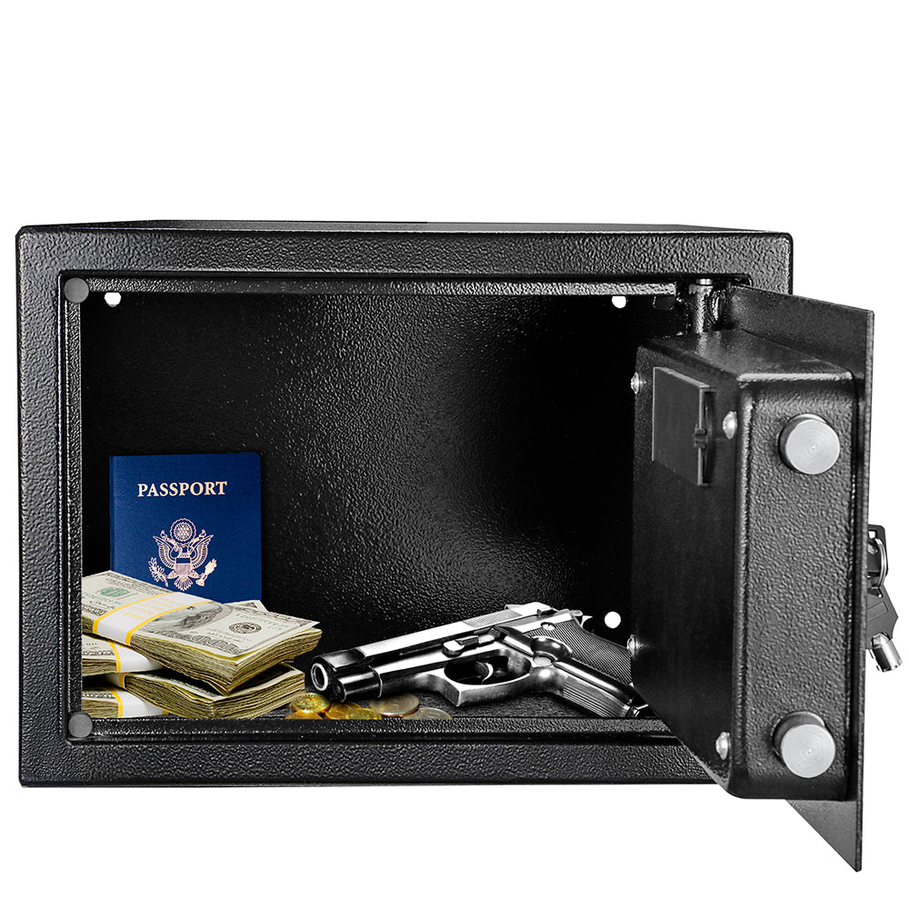 ZOKOP H250*W350*D250 mm Electronic Code Depository Security Safe Box Black | 15529290