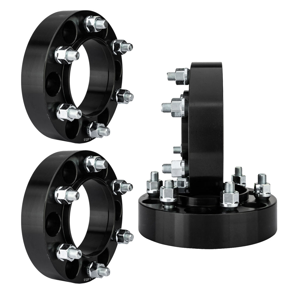 "(2) 1.5"" Hub Centric 6x5.5 to 6x5.5 Wheel Spacers For Lexus GX470 12 Lug Nuts 