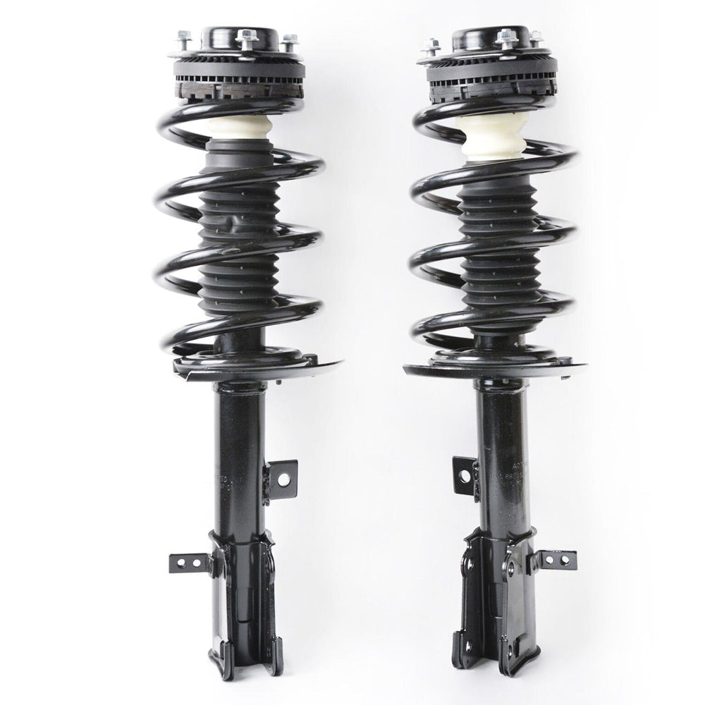 2 Front of Quick Complete Strut Assemblies For 2009-2017 Dodge Journey | 52349524