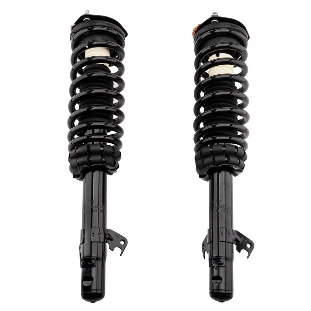 2 Front Left & Right Shock Absorber Strut Spring fit for FORD FUSION -172261 | 53766861