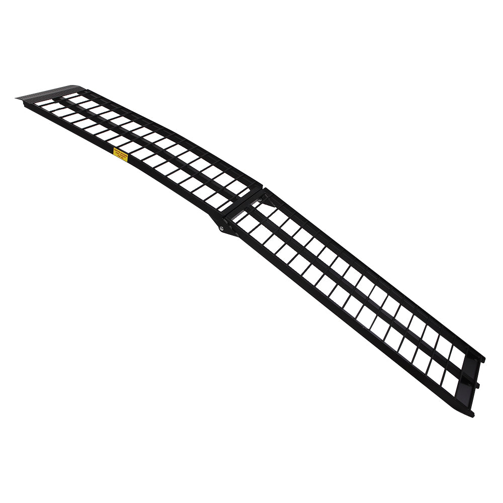10ft Aluminum ATV Truck Loading Ramp Motorcycle Harley 900 lbs Capacity | 25722912