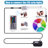 12V-5050RGB 44 Keys 10 Meters 300 Lights (40W) Light Strips | 33408246