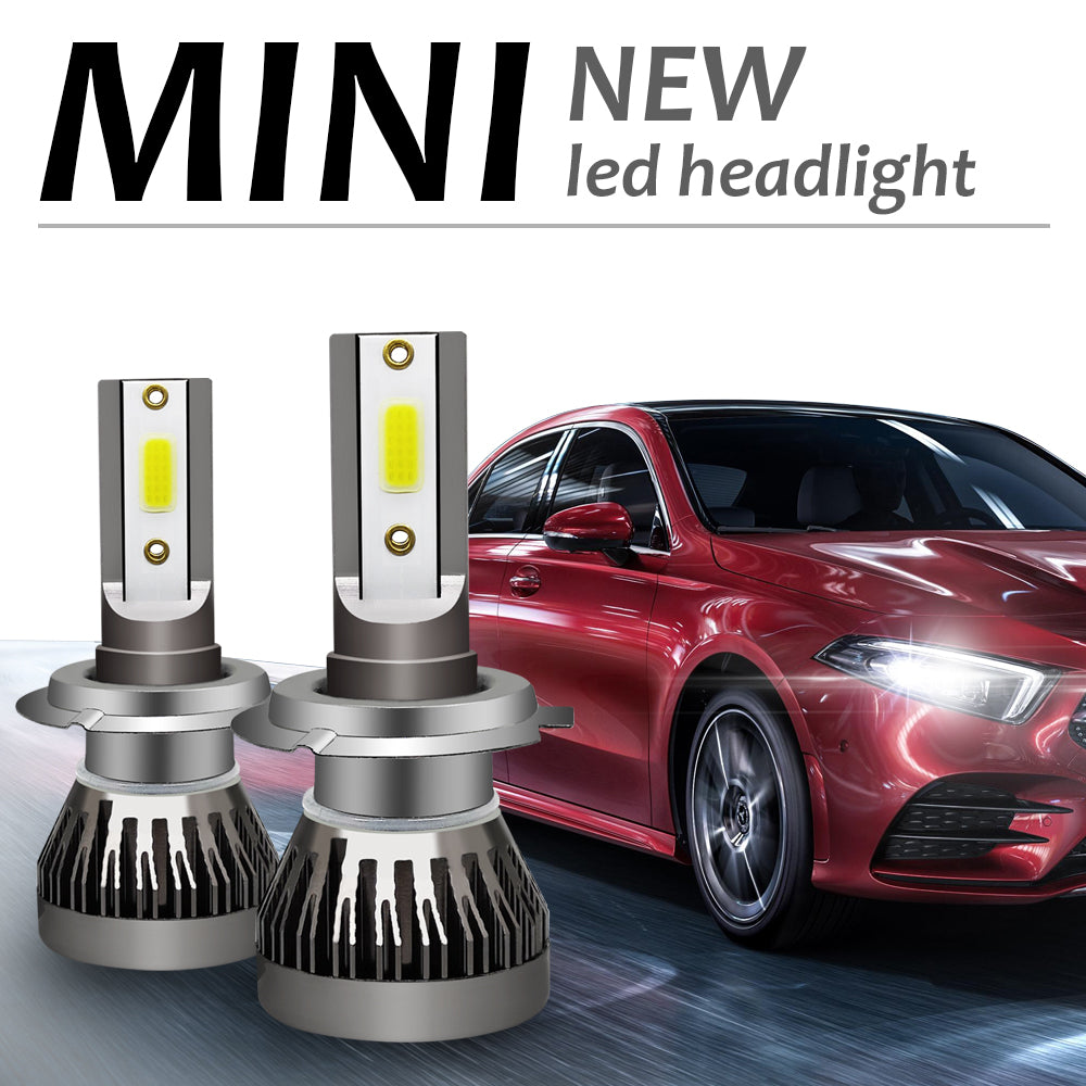 1 Pair H7 Headlight Coversion LED Bulb Kit High Beam for 2007-2009 Benz CLK550 | 61085152