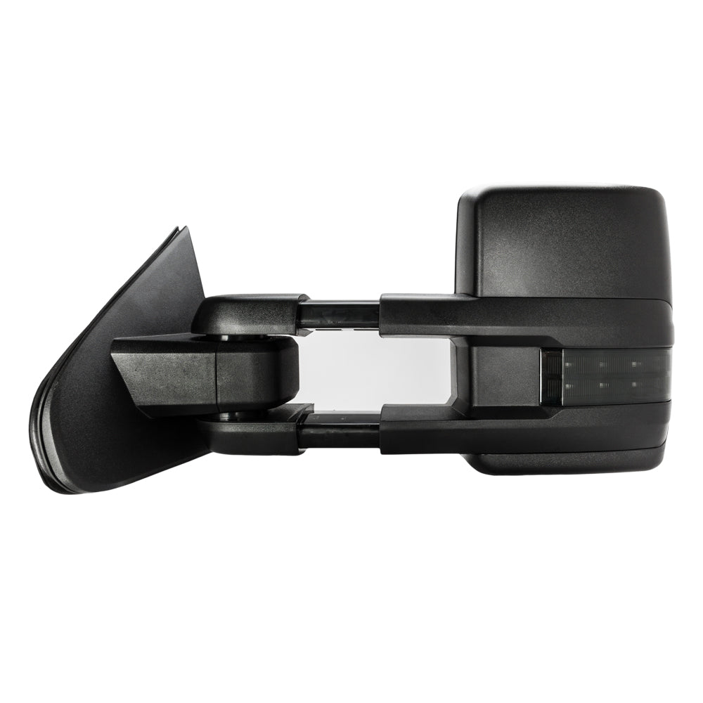 Towing Mirrors For 2014-2017 Silverado GMC Sierra Power Heated Smoke Turn Signal | 43674629