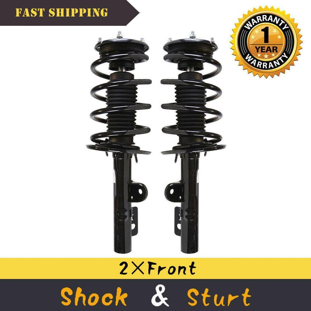Set of 2 Front Quick Complete Struts Shock Absorbers Springs For 09-11 Ford Flex | 07779490