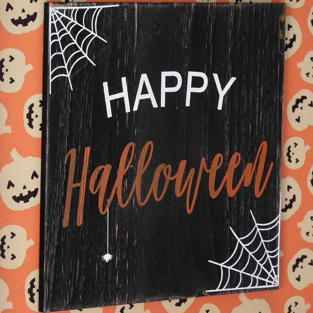 Artisasset HAPPY HALLOWEEN Halloween Hanging Sign Holiday Wall Sign | 94109510