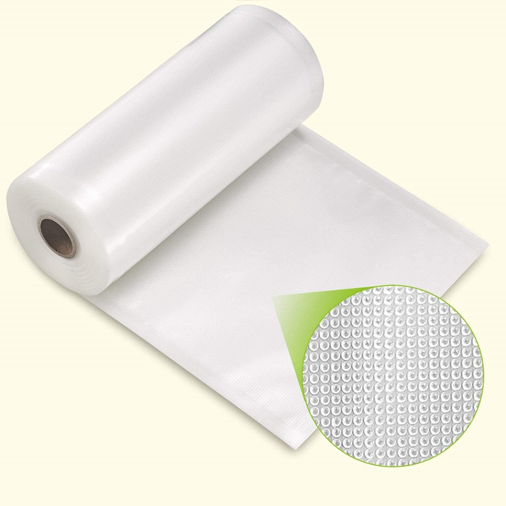 "2 pcs 11""x50' 8""x50'?28cmx15m 20cmx15m Vacuum Food Packaging Bag Dot Rolls 