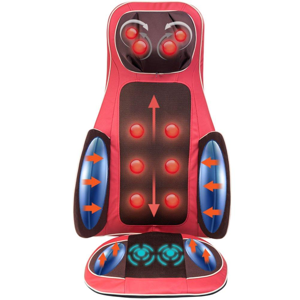 Real Relax™ Car Back Massager Cushion with Heat, Vibrating Motors & Heating Therapy