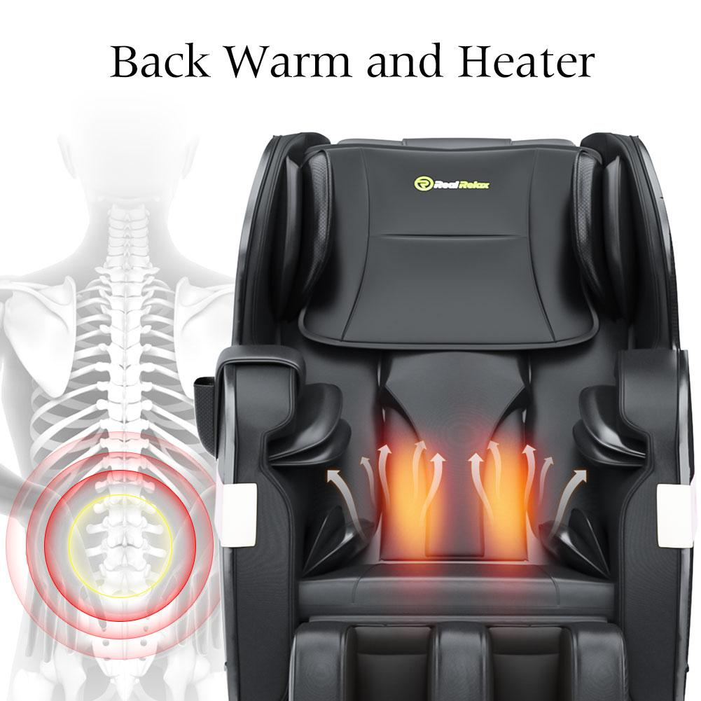 Favor-03 PLUS Full Body Shiatsu Massage Chair Recliner by Real Relax™ <br>