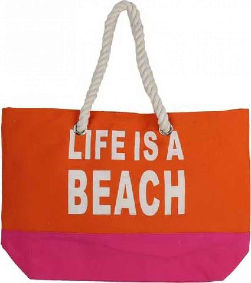 Beach Bag- Lifes a Beach