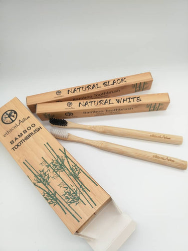Eco Bamboo Tooth Brush Annual Set (4 Pack)