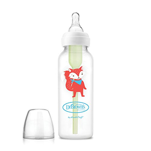 Dr. Brown's Options Baby Bottles, 8 Ounce, Animal Designs, 6 Count