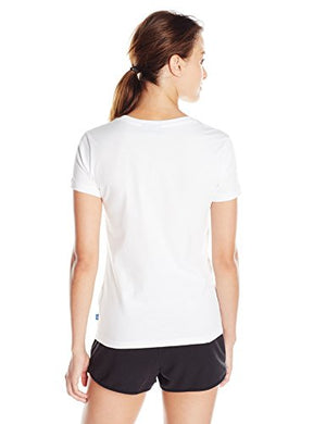 adidas Originals Womens Tops | Trefoil Tee, White/Black, X-Large