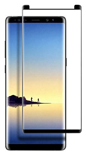 XtreMates Samsung Galaxy Note 8 Screen Protector - [3D Curved Edge][Case Update
