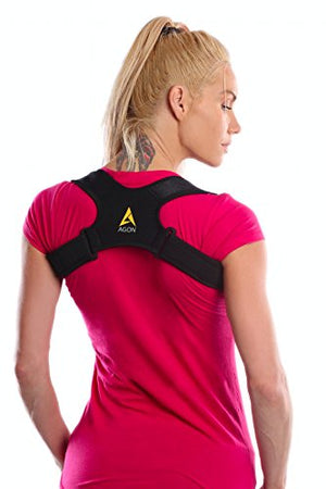Agon Posture Corrector Clavicle Brace Support Strap, Posture Brace Medical to
