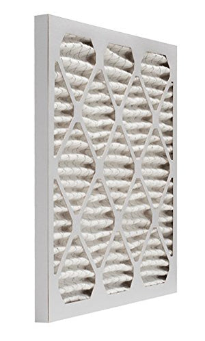 Aerostar Pleated Air Filter, MERV 11, 16 3/8x21 1/2x1, Pack of 6, Made in the USA