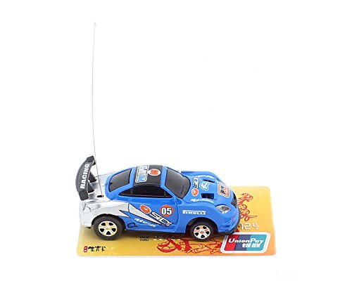 3Pcs/Lot(3Pcs different frequencies) Cans type mini RC car/Portable pocket toy car with 4pcs roadblocks,Color random match