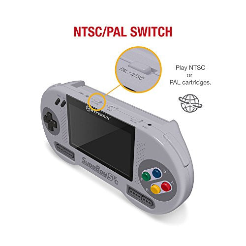 Hyperkin SupaBoy SFC Portable Pocket Console for SNES/ Super Famicom