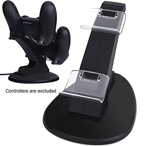 PS4 Controller Charger, AOJOYS Playstation 4/PS4 Pro/PS4 Slim Controller Station