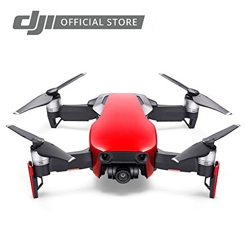 DJI Mavic Air Fly More Combo, Flame Red Portable Quadcopter Drone