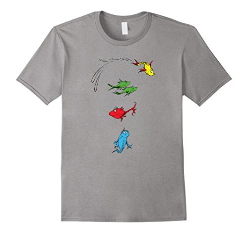 Dr. Seuss One Fish Two Fish Red Fish Blue Fish T-shirt