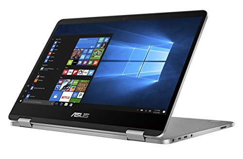 Asus TP401NA-WH21T VivoBook Flip 14 Thin and Light 2-in-1 HD Touchscreen Laptop