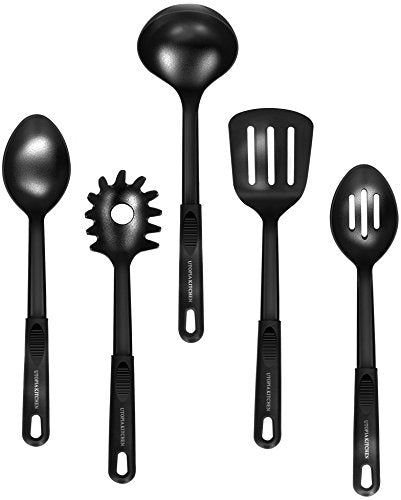 13 Pieces Kitchen Cookware Set - Pots and Pans Set with Cooking Utensils - Doubl